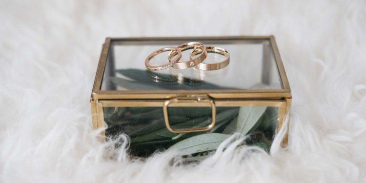 Ringkästchen zur Hochzeit: So einfach könnt ihr es zusammenstellen