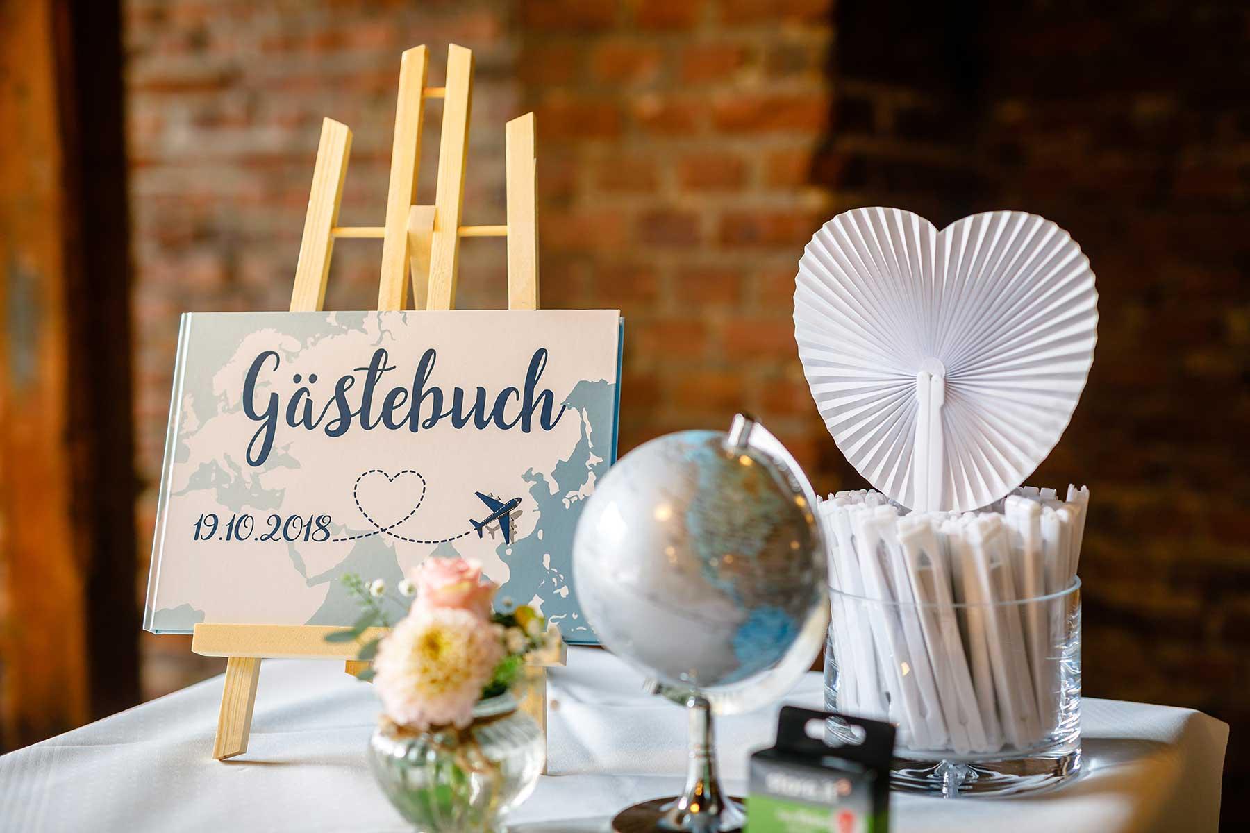 Hochzeit mit Reise als Motto: Inspiration & Ideen