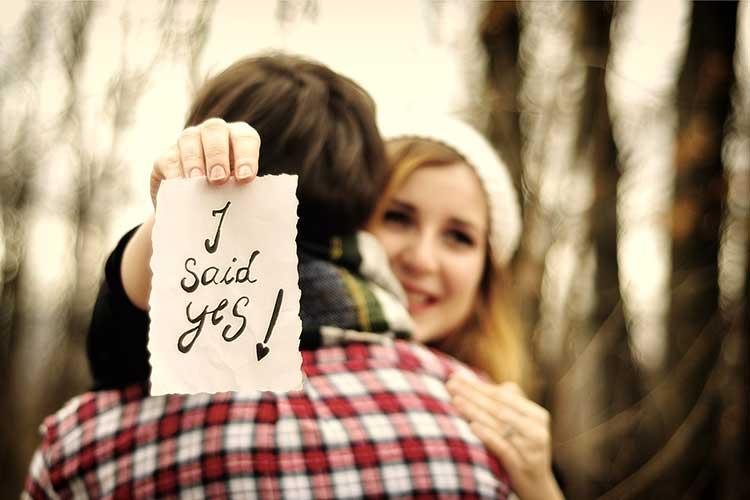 Ihr verkündet eure Verlobung zu früh