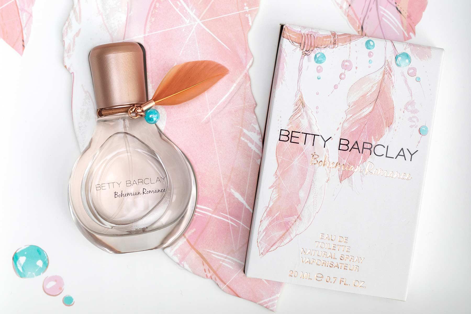 Bohemian Romance – Der neue Duft für die Boho-Braut von Betty Barclay