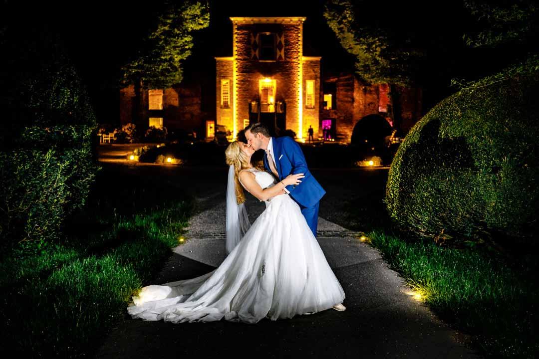 Hochzeit in Mint und Gold in Schloss Hertefeld