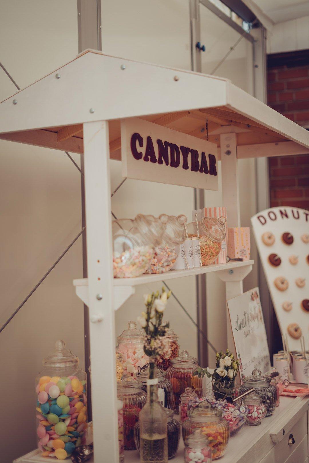 Candybar bei der Hochzeit