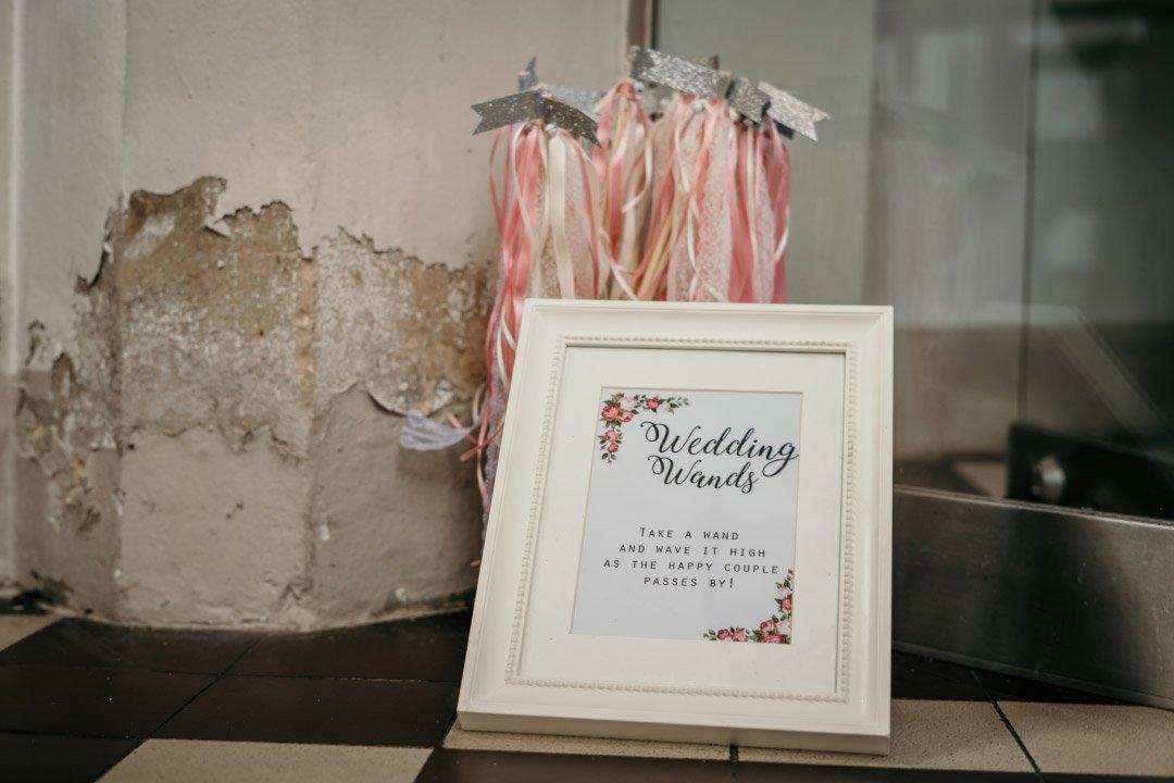 Wedding Wands bei der Hochzeit