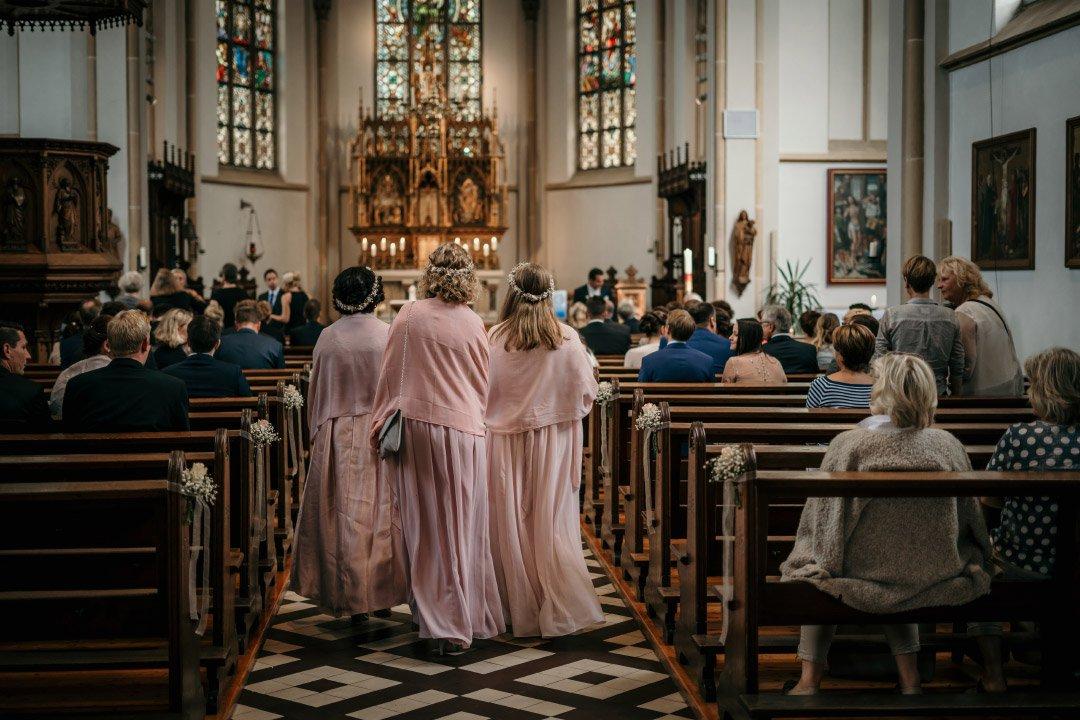 Kirchliche Trauung von Annelie und Markus in der St. Andreas Kirche in Haltern am See