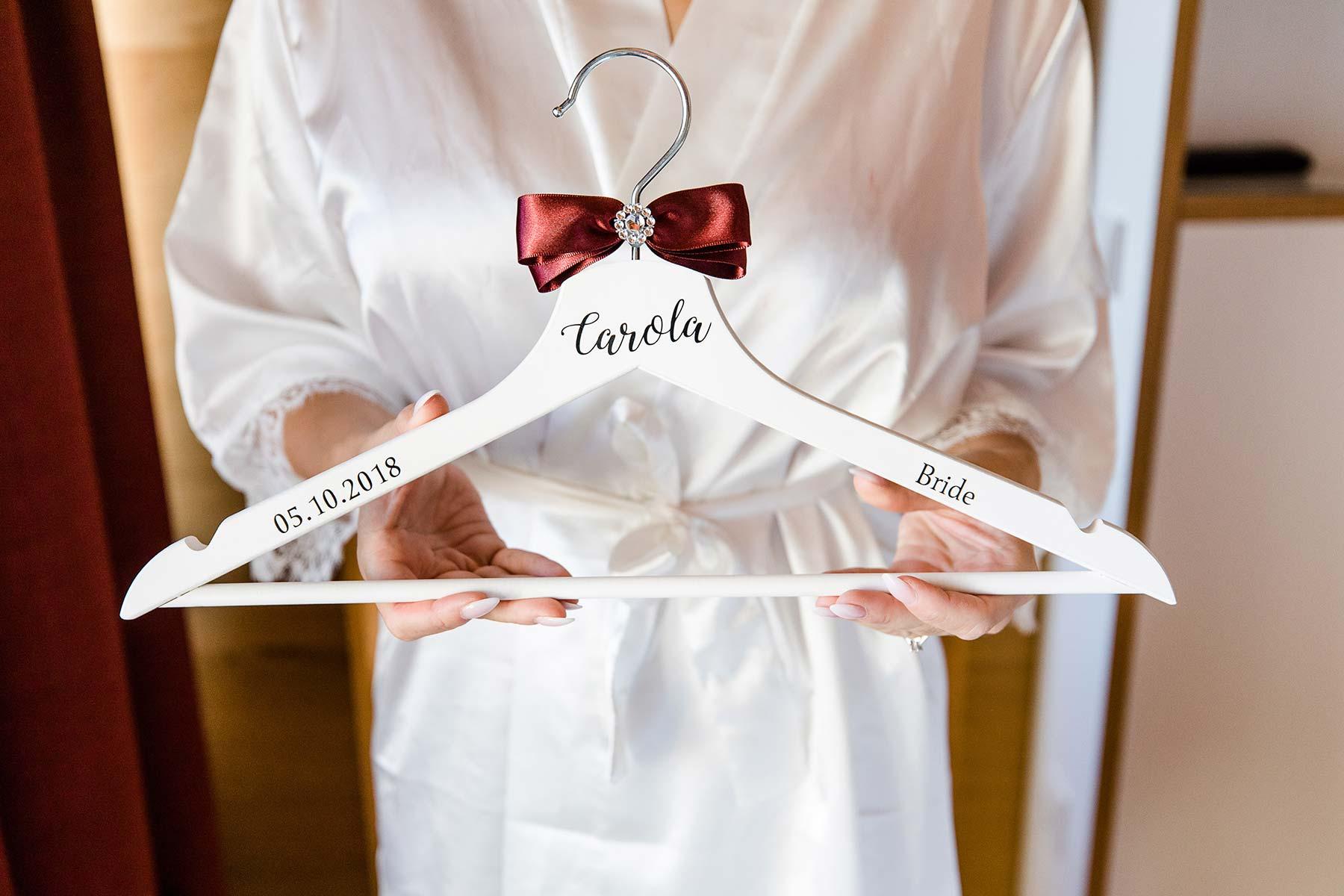 Personalisierte Kleiderbügel Für Braut Trauzeugin Allen