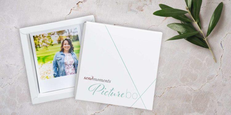 sendmoments Picturebox mit Retro Fotos im Test