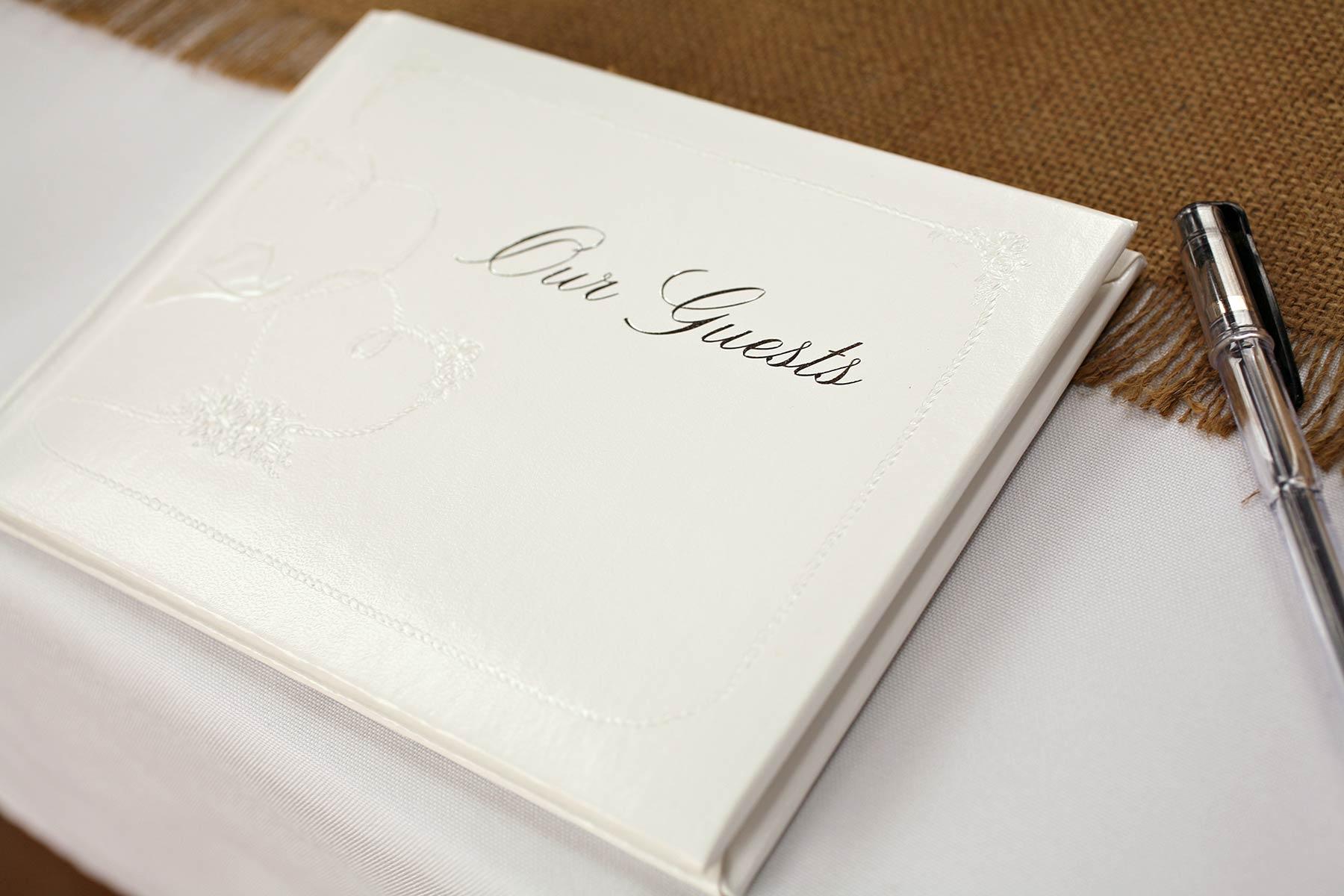 Gästebuch gestalten erste seite