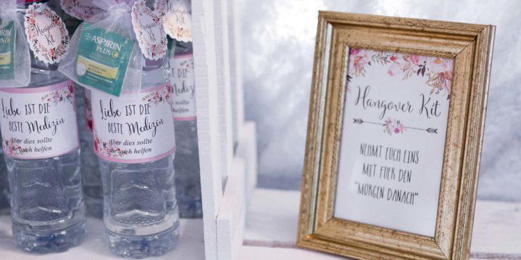 Hangover-Kit: Erste Hilfe für den Morgen nach der Hochzeit
