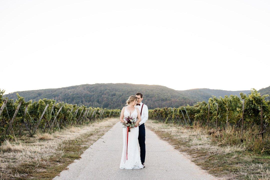 Herbsthochzeit in den Weinbergen vom Weingut von Winning