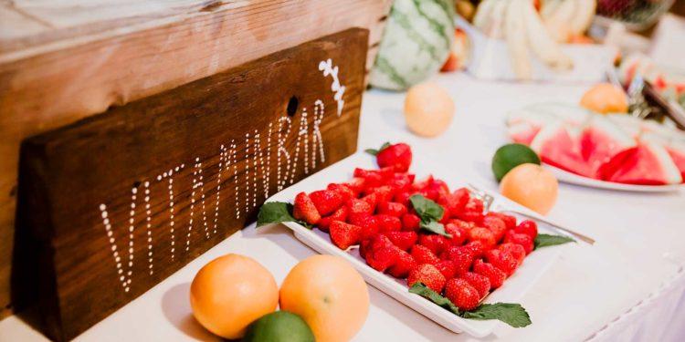 Vitamin-Bar zur Hochzeit: die gesunde Alternative zur Candybar
