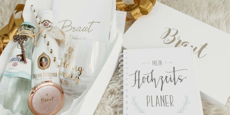 Geschenkbox für die Braut: perfektes Geschenk für jede angehende Braut!
