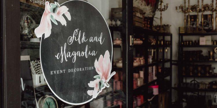 Zu Besuch bei Silk and Magnolia – Event Decoration