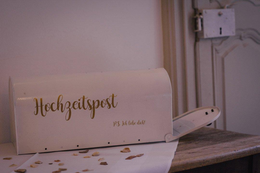 Kartenbox für Hochzeitspost