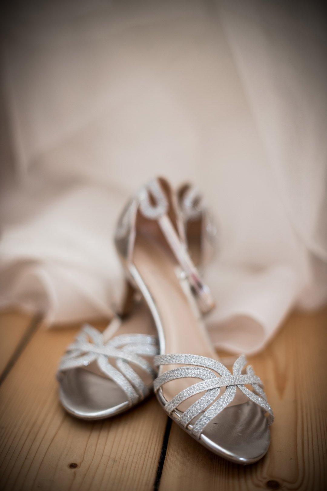 Schuhe der Braut