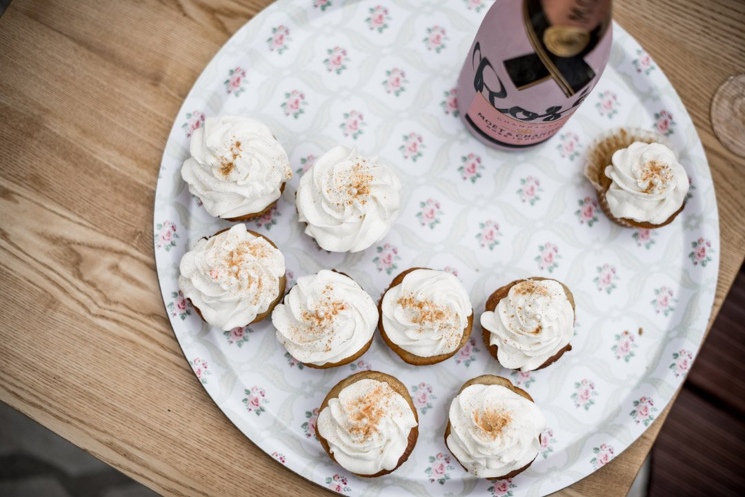 Cupcakes beim Getting Ready