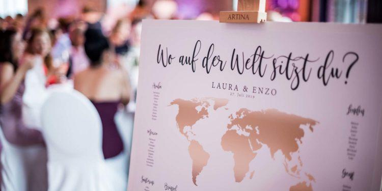 Hochzeitsmotto Reisen: Hochzeit von Laura und Enzo