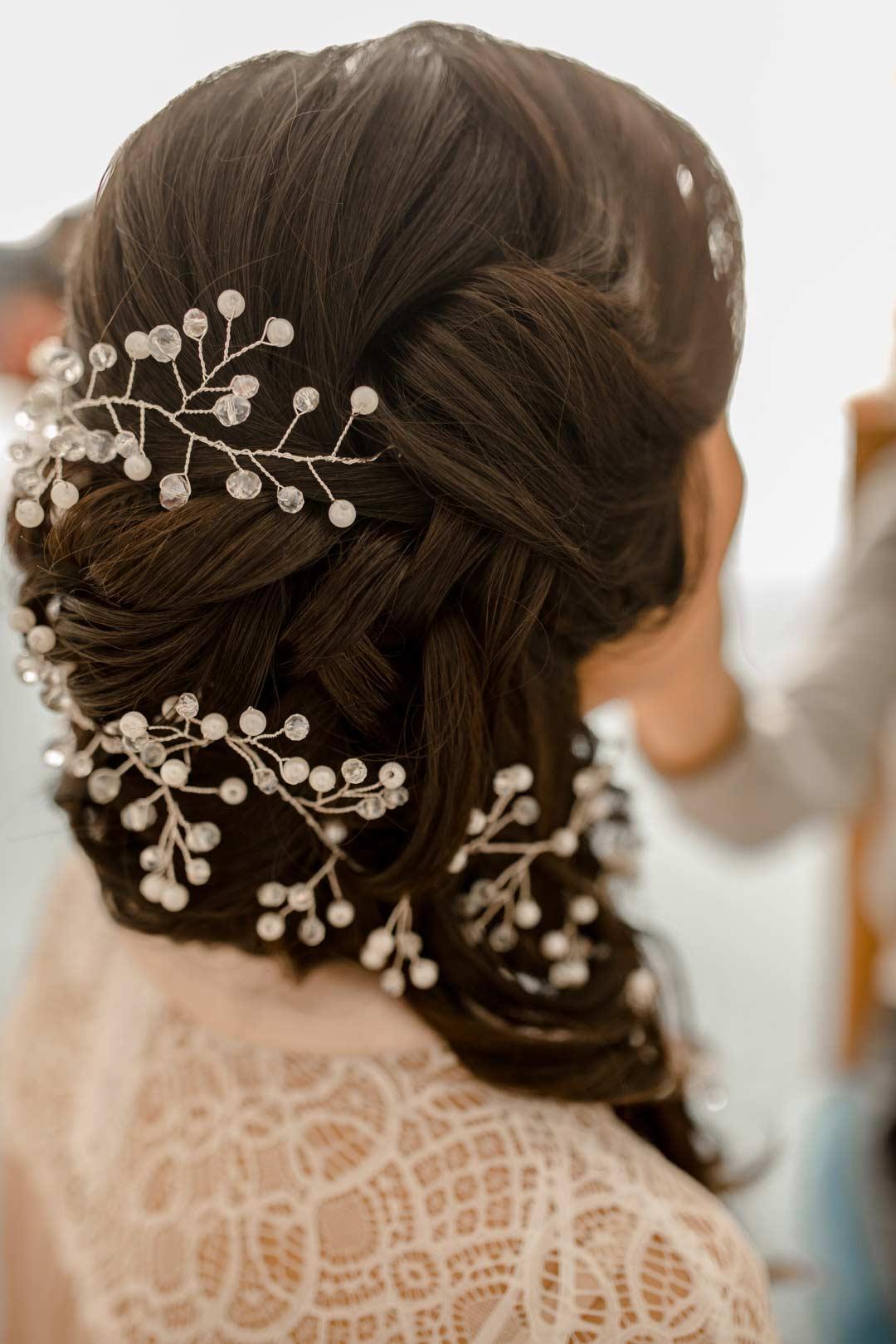 Haarschmuck für die Braut