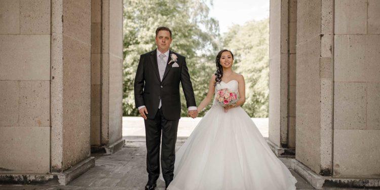 Multikulturelle Hochzeit von Nhi und Fabian