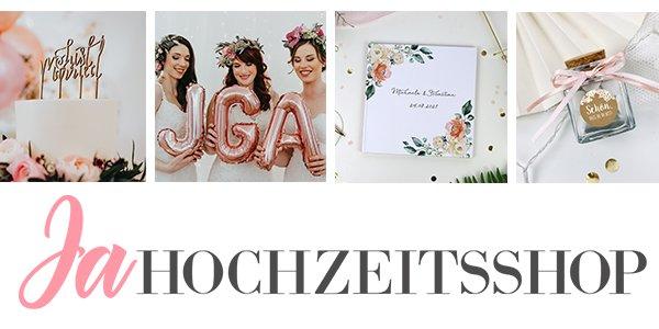 Banner Ja-Hochzeitsshop