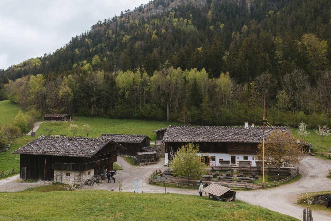 Hochzeit im Markus Wasmeier Freilichtmuseum im Alpenvorland