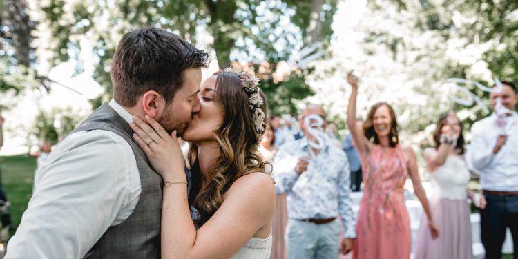 Rustic Chic Hochzeit mit einem Hauch Boho