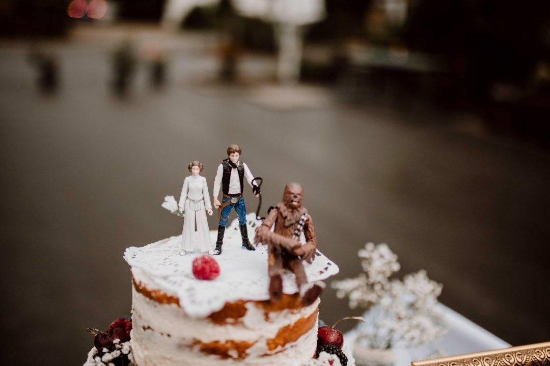 Star Wars Caketopper für die Hochzeitstorte