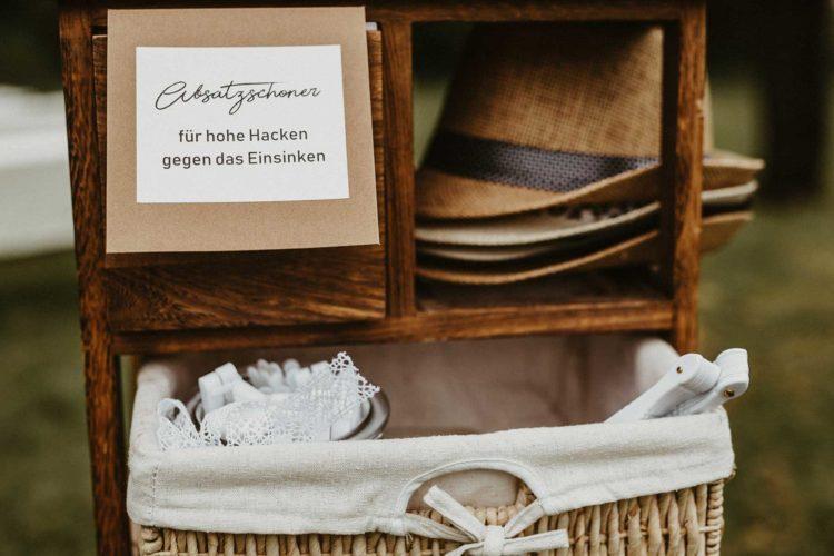 Absatzschoner für High Heels: Hilfe für hohe Hacken bei der Hochzeit