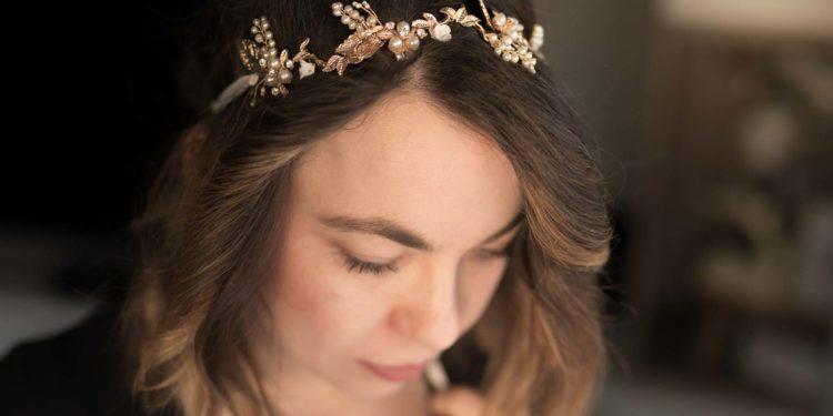 Headpieces für die Braut von IWALANI by Sarah