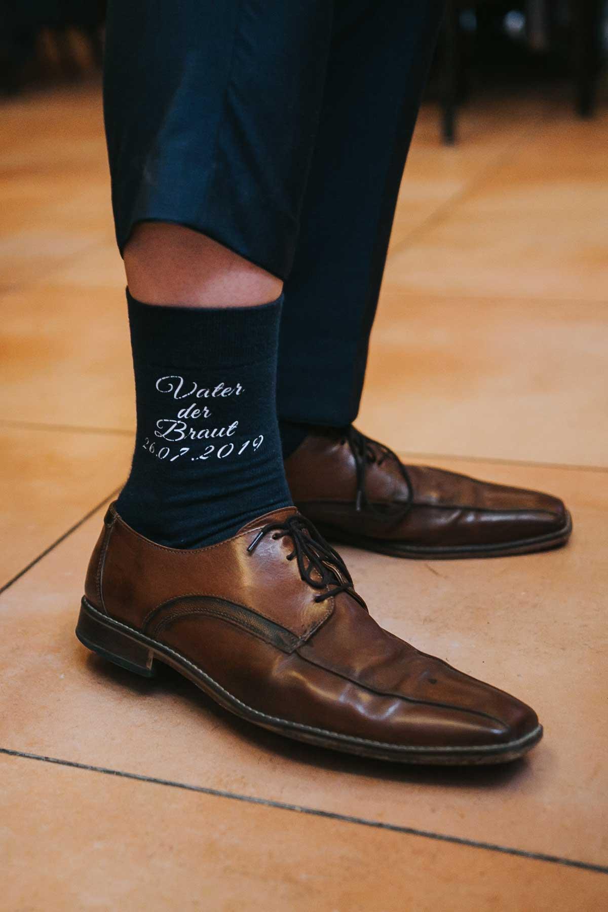 Socken für den Vater der Braut