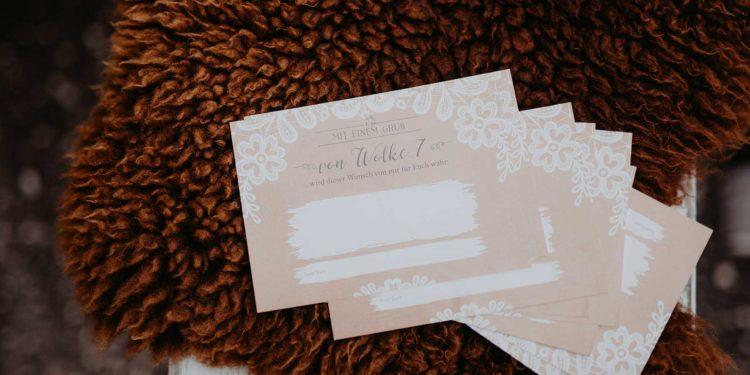 Wunschglas für die Hochzeit: Ergänzung zum Gästebuch