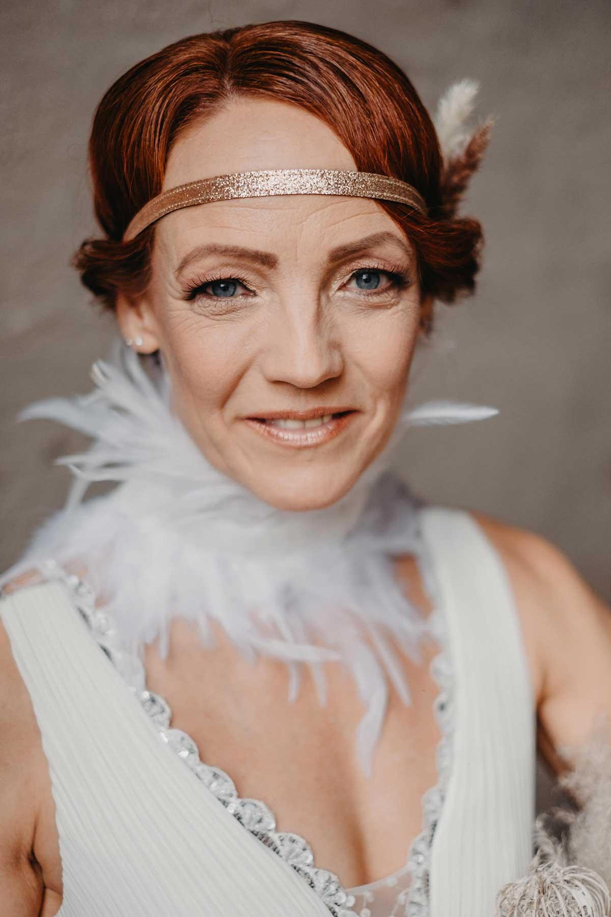 Braut beim Brautshooting 2020