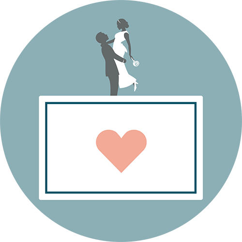 Anzahl Seitenaufrufe bei uns im Hochzeitsblog