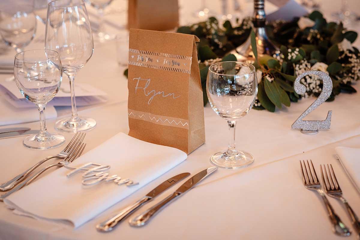 Überraschungstüte für die Gäste bei der Hochzeit