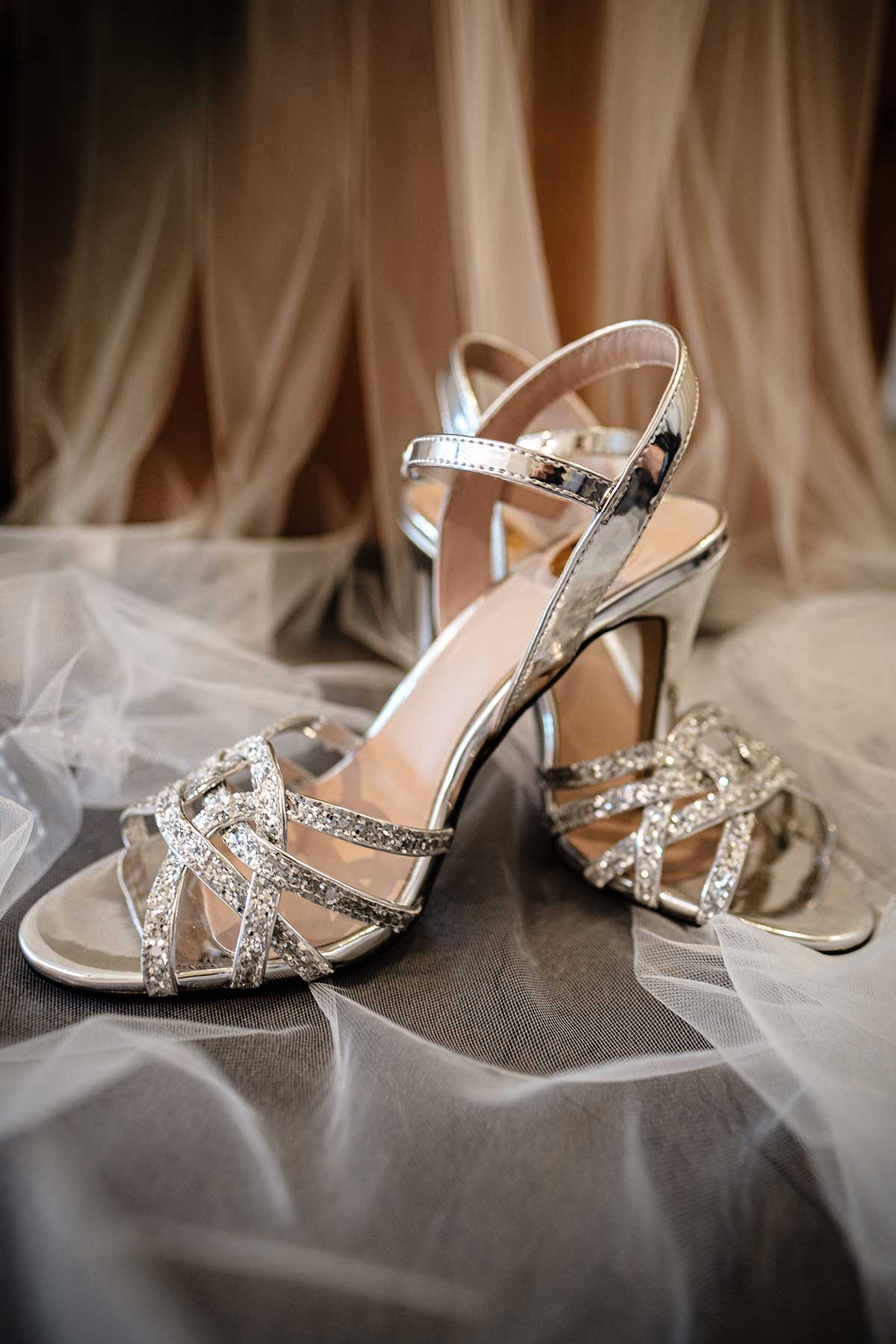 Schuhe von der Braut