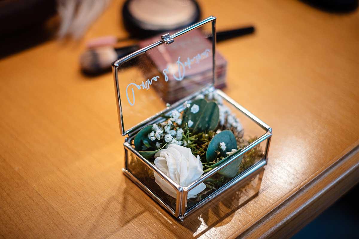 Ringkästchen für die Hochzeit