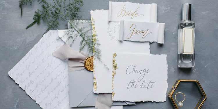 Datum der Hochzeit ändern: Karte dazu versenden!