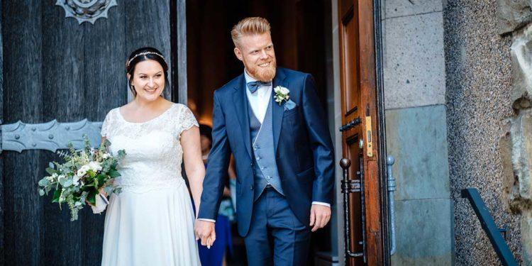 Greenery und Gold Hochzeit im Landhaus Grum in Hattingen