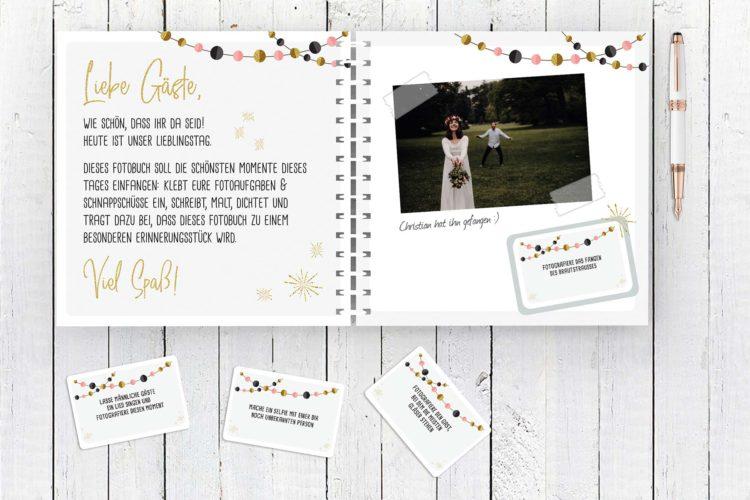 Fotospiel für die Hochzeitsfeier: Tolle Beschäftigung der Gäste!