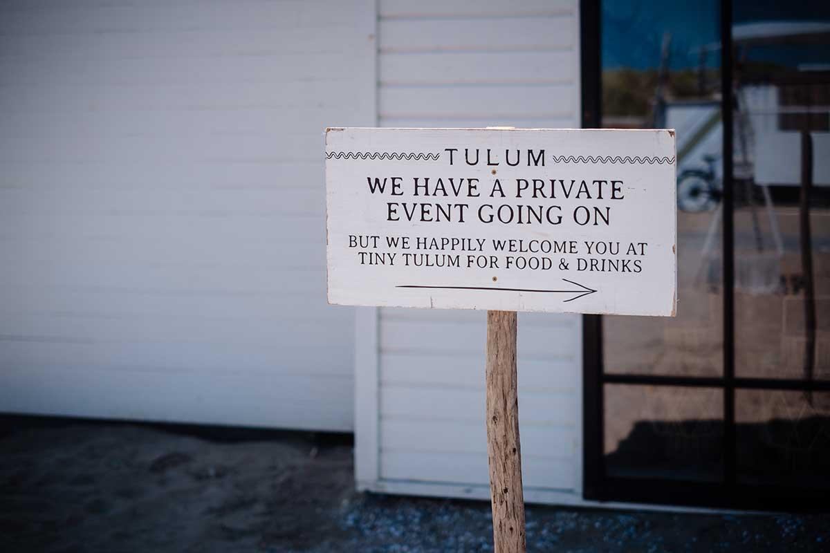 Tulum als Location für die Hochzeit am Strand in Norrdwijk in Holland