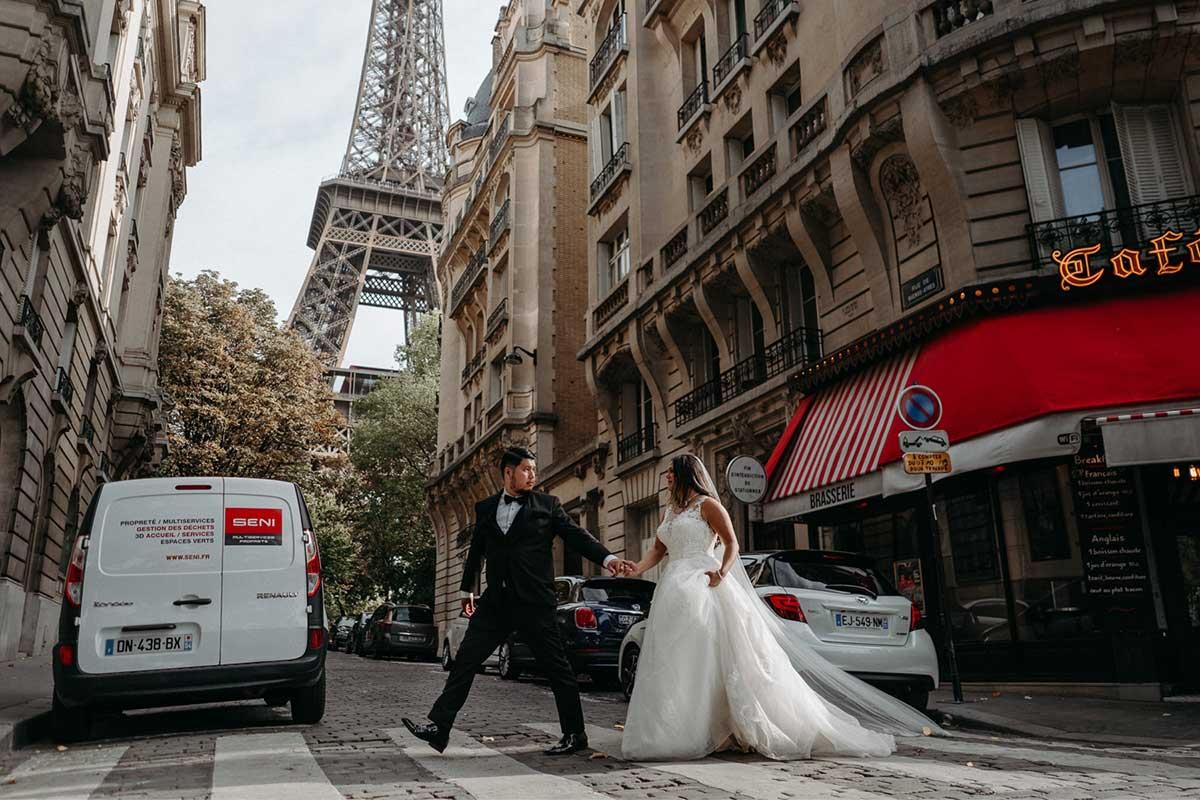 After-Wedding-Fotoshooting in Paris