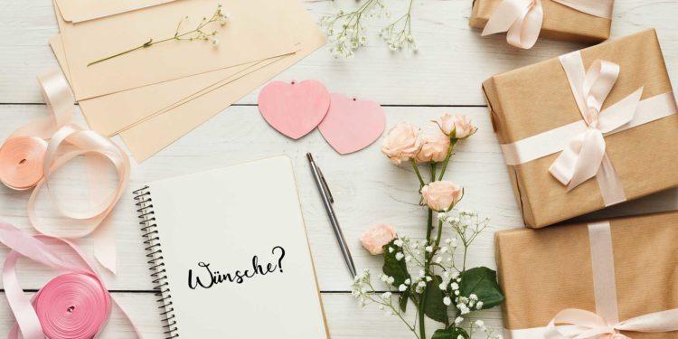 Wunschliste zur Hochzeit: Warum sie eine gute Idee ist!