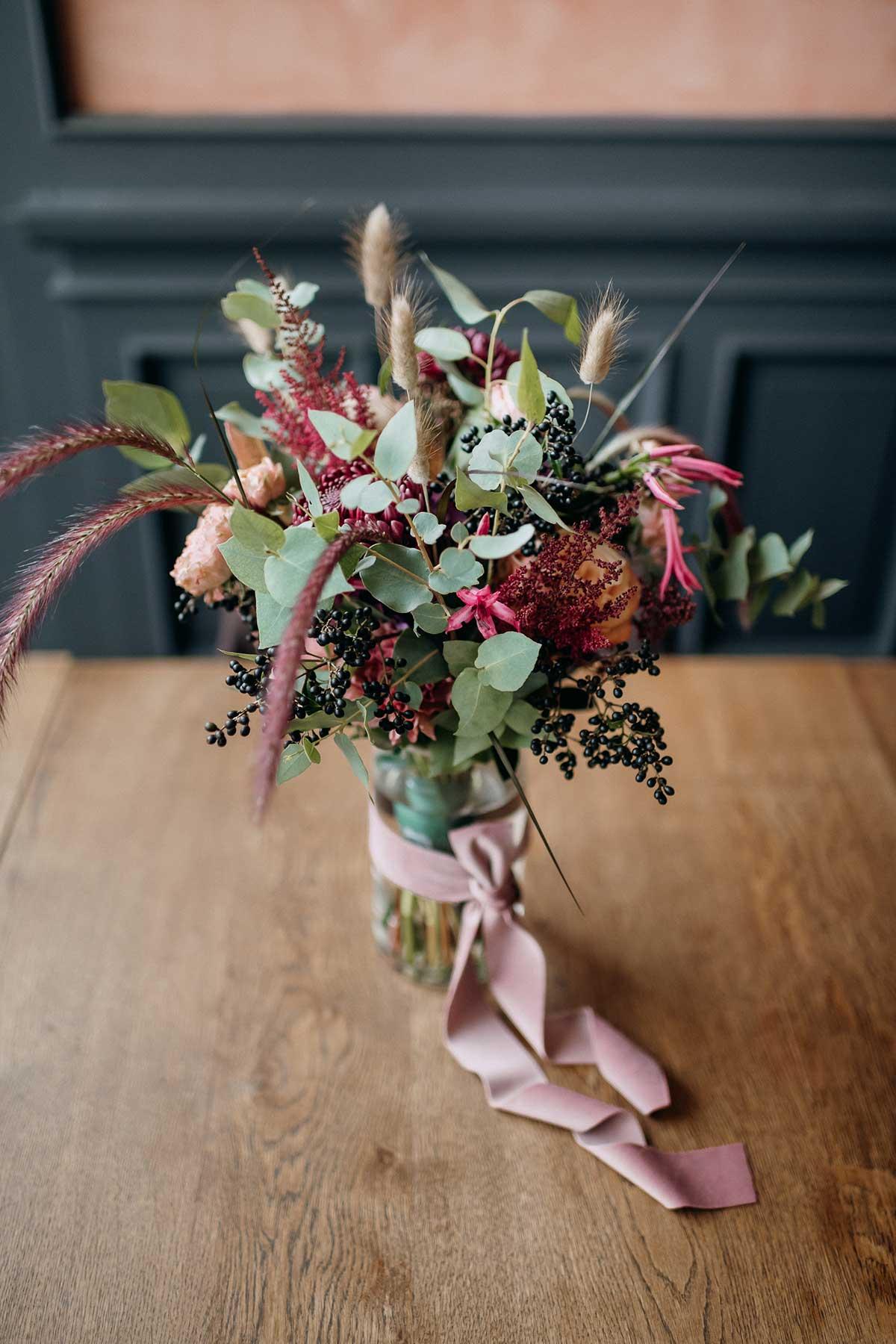 Brautstrauß mit Tischdeko mit pinken und Suchergebnisse Webergebnisse Bordeauxrot farbenen Blumen