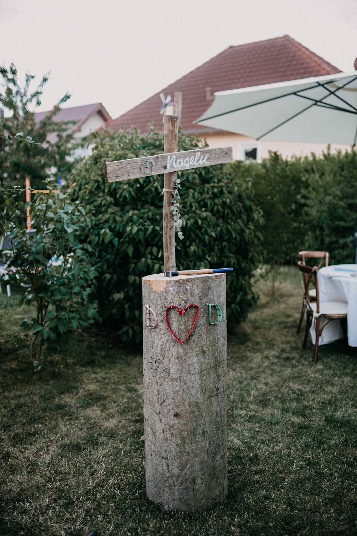 Gartenhochzeit: So könnte eure Hochzeit im eigenen Garten aussehen