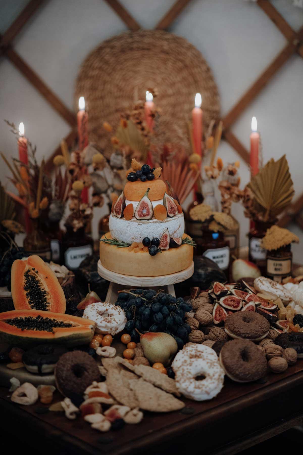 Sweet Table bei der Ethno-Chic Hochzeit