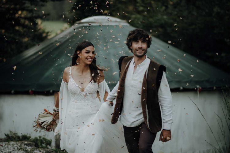 Ethno-Chic Hochzeit – Sommerfest zwischen Bergen und Seen