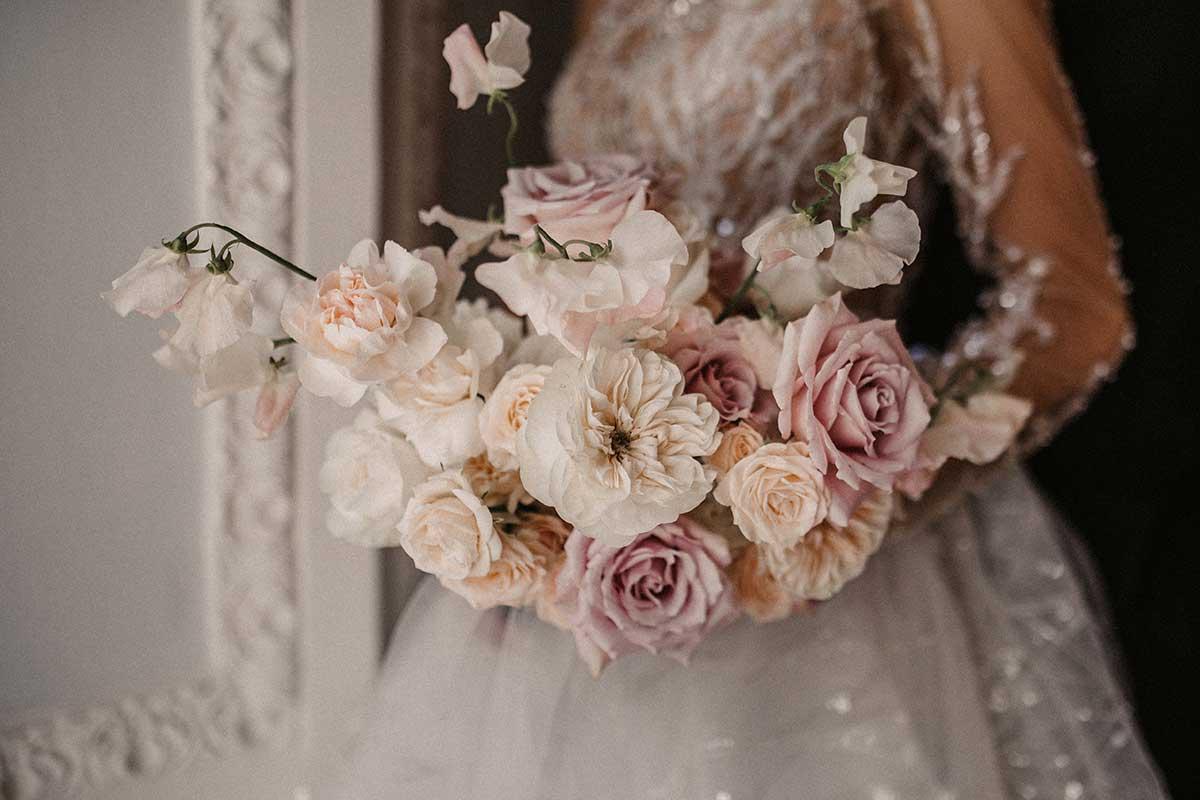 Klassisch romantischer Brautstrauß