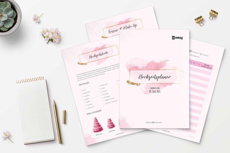 Gratis Hochzeitsplaner – Jetzt personalisieren & kostenlos herunterladen!