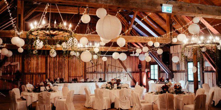 Scheunen Hochzeit in der Eventscheune Wallenburg