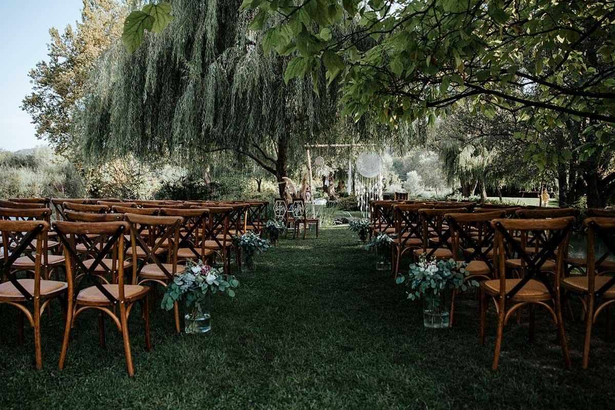 Ort der Trauung bei der Destination Wedding am Gardasee