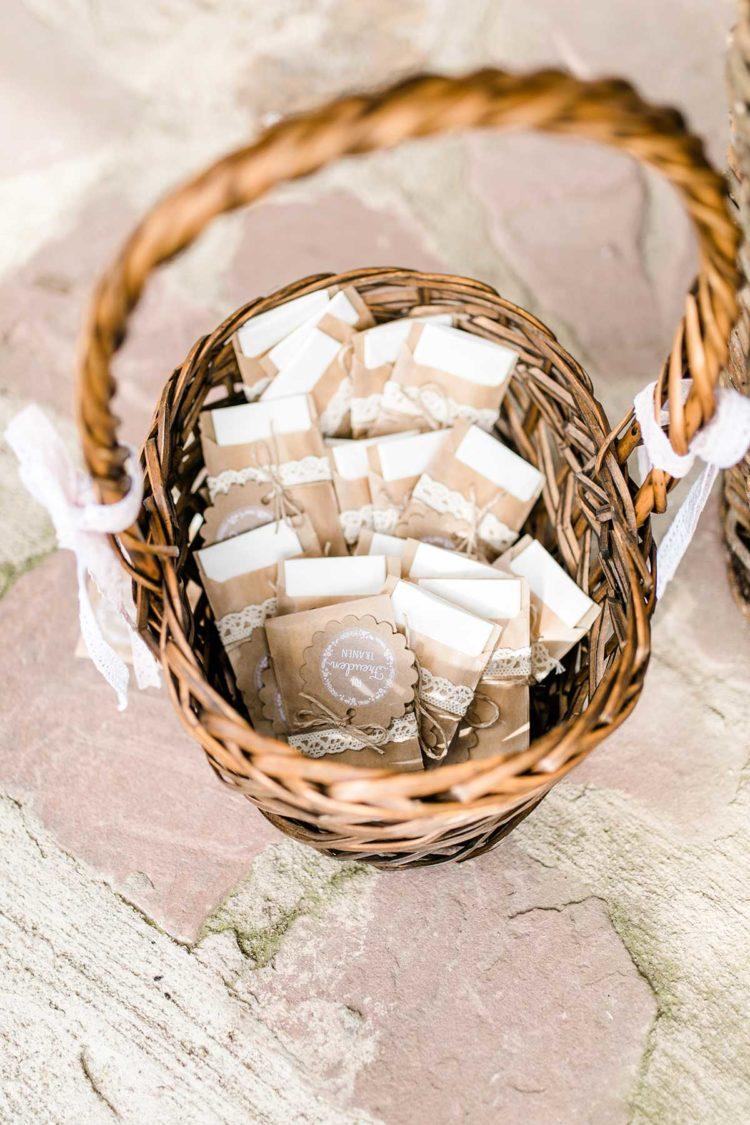 Geschenkanhänger zur Hochzeit für Freudentränen Taschentücher